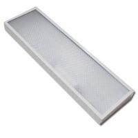 Офисный светодиодный светильник  ДПО2 (Аналог ЛПО 2*36) 15-50Вт
